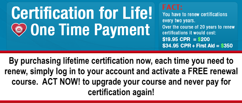 Lifetime Certificate Simplecpr